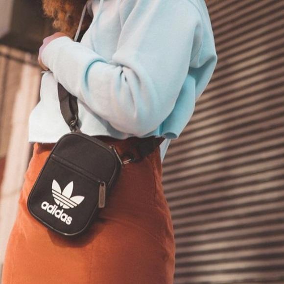 eb9c6d5e65a adidas Bags   Originals Trefoil Festival Crossbody Bag   Poshmark
